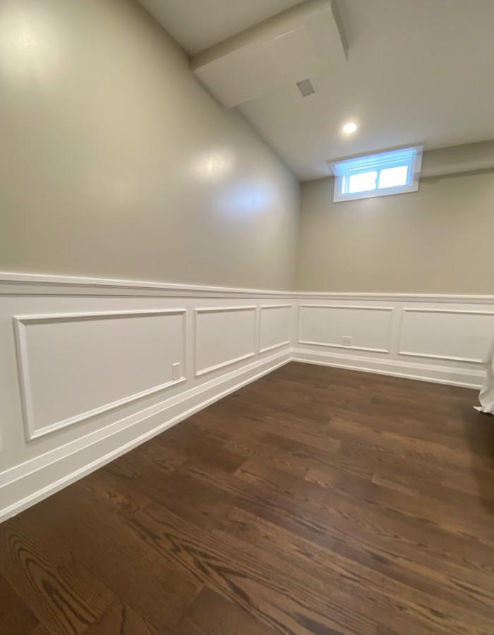 hardwood floor basement 1