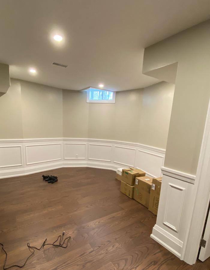 hardwood floor basement 4