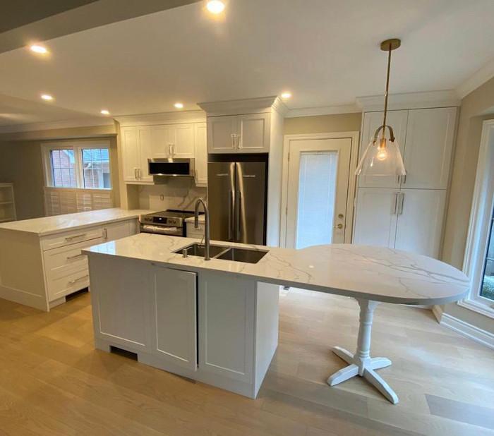 white kitchen reno 2