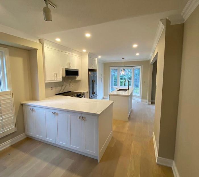 white kitchen reno 1
